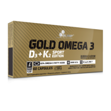 Gold Omega 3 D3+K2 Sport Edition, 60 caps