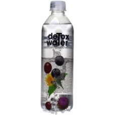 DETOX WATER DANDELION, MILK THISTLE, NETTLE 12 X 500ML