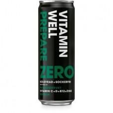 Vitamin Well ZERO  24X 355ml kampanje 3 brett