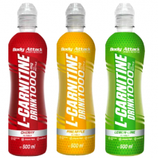L-CARNITINE DRINK 18 X 500 ML Body Attack