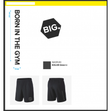 MEN`S SHORTS FORCE BIG BLACK