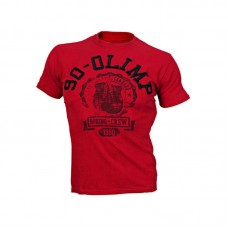 Men's Tee KNOCKOUT red