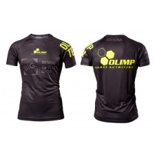 MEN`S T-SHIRT REGLAN OLIMP TEAM BLACK-NEON