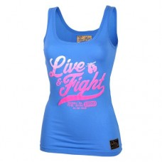 Lady's Tank Top - ORIGINAL 90 blue