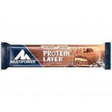 PROTEIN POWER LAYER BAR  18 X 50g COOKIES CREAM (50%)