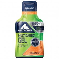 CARBO ENERGY GEL ORANGE 24X40G MULTIPOWER