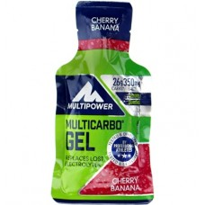 MULTIPOWER MULTI CARBO ENERGY GEL CERRY BANAN 24X40G