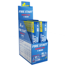 Fire Start Energy Gel+BCAA Green Apple  20 x36g