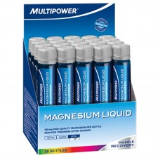 MAGNESIUM LIQUID 20X25ML ORANGE MULTIPOWER