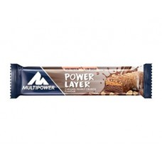POWER LAYER BAR  18 X 50g  CARAMEL  PEANUT ( best før desember)