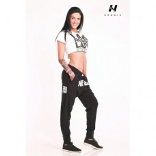 Nebbia DROP CROTCH PANTS 274 Black