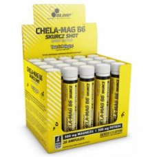 CHELA-MAG B6 CRAMP SHOT SPORT EDITION 20 X 25 ML ORANGE