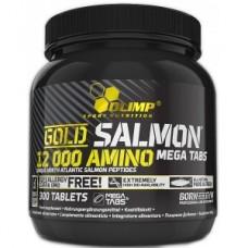 GOLD SALMON 12000 AMINO MEGA TABS, 300 TABS