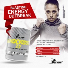 KNOCKOUT™ 2.0 POWERFUL PRE WORKOUT 10 x 305g