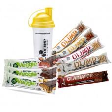 Shaker Standar OLIMP 700ml + proteinbar Kampanje