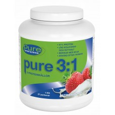 PURE 3:1 PROTEIN POWDER 1KG