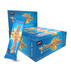 Peanut Time Bar 12 x 60 g QNT