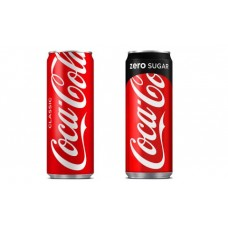 Coca Cola Drikker 20X330ml Sleak can